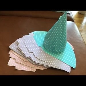 Other - New Polka dots kids Party hats 36pcs
